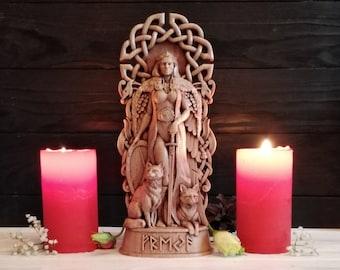 Freya, Freyja statue God viking Pagan paganism God Altar sculpture