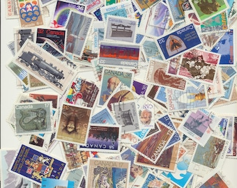 200 CANADA DIFFERENT (large size) used 1980s includes nice sets, homemade