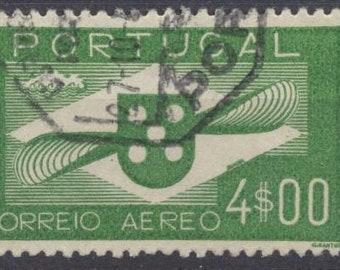 Portugal #C5 used stamp VF Scott 18.00