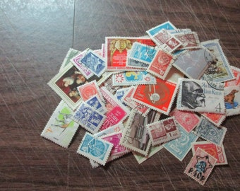 RUSSIA USED and mint, large & small, older to modern, ideal for collecting, collage, choose quantity mostly different