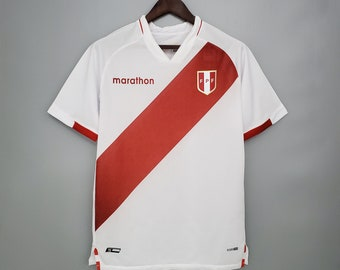 20202021 Peru Home National Soccer Jersey Football Shirt Mens Adult Free customs Nameset