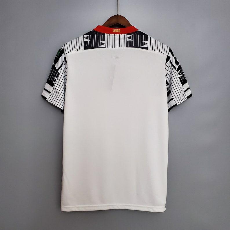 2020 Ghana Home Soccer Jersey football Shirt Mens Adult Free customs nameset