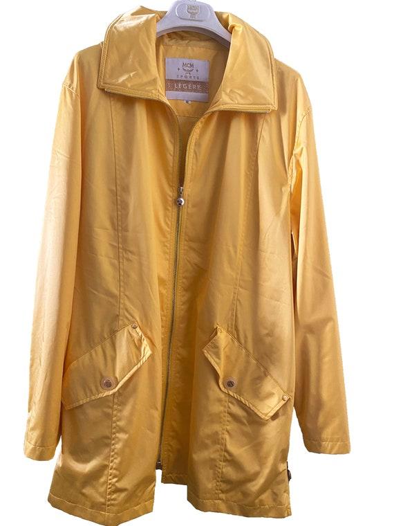 MCM Légère Vintage Yellow Raincoat