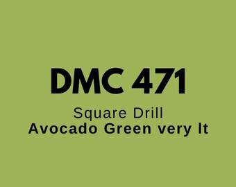 Strass for diamond painting diamond painting DMC 471 square or round