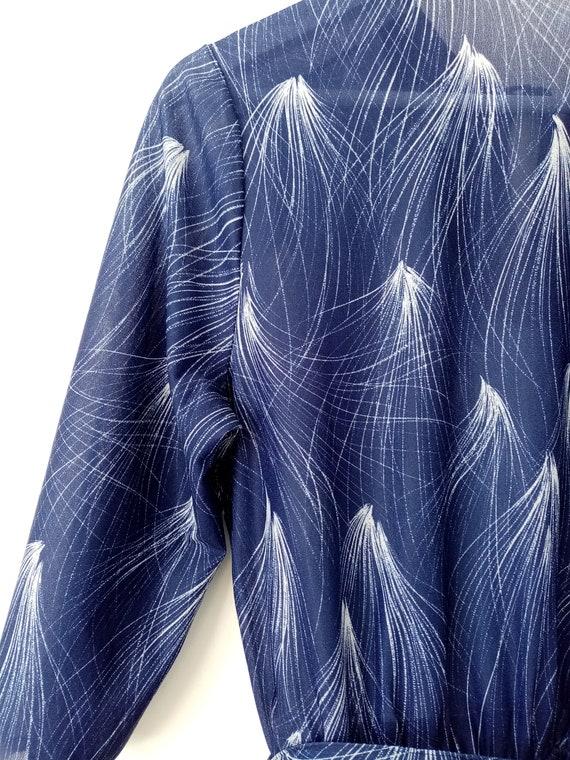 Phillie- Feather Print dress