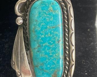 Old Pawn Navajo Kingman Ring