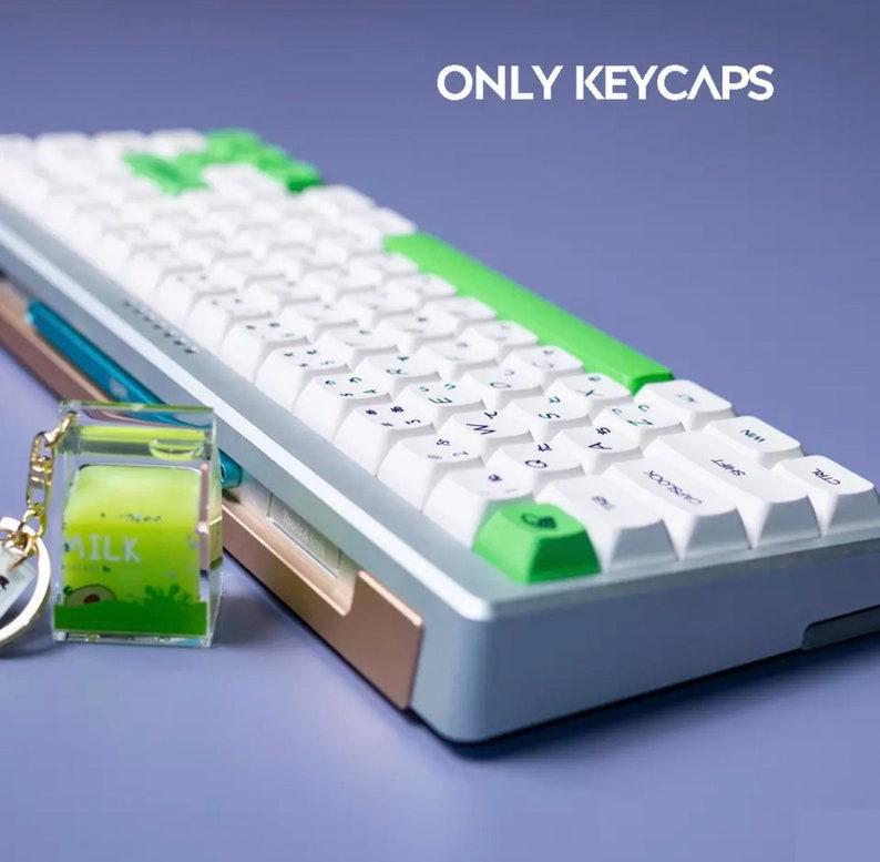 Avocado /& Milk keycap set