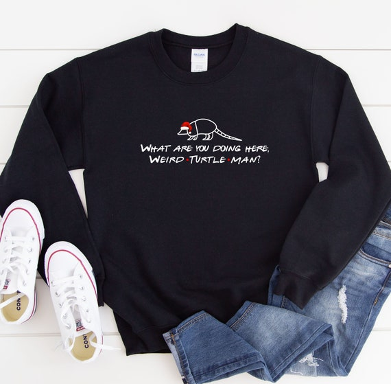 I/'m The Holiday Armadillo Jumper Friends TV Show Sweatshirt Funny Xmas Party