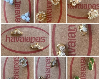 Crystals Or Personalized Crystal Charms for Havaianas SLIM