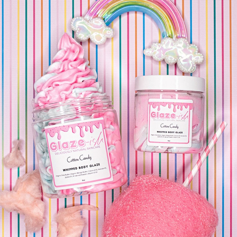 Cotton Candy Whipped Body Butter image 0