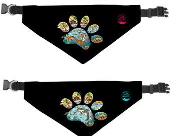 Keys Paw Bandana with Collar