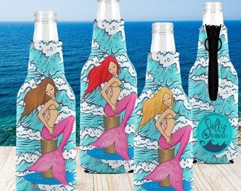 Bottle Koozies -Mermaids 4 Rescues