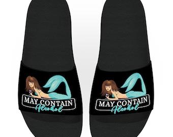 Drinking Slide Sandals