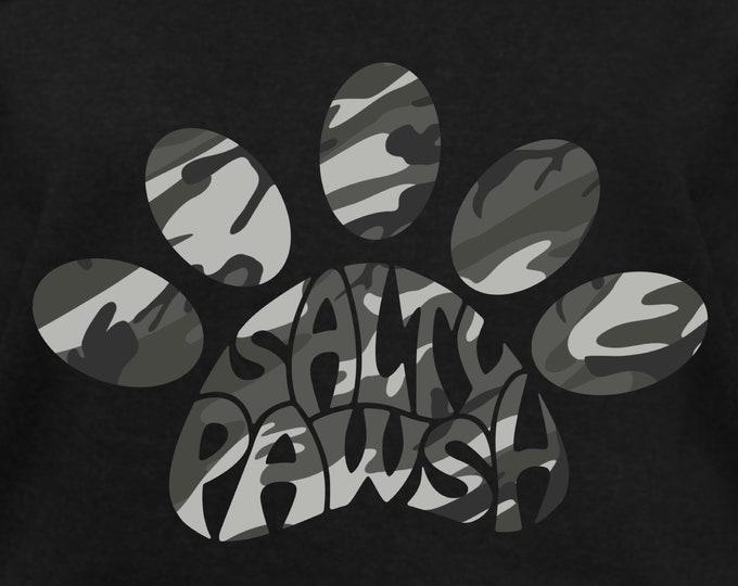 Salty Pawsh Camo Paw Gear