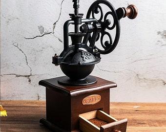 Coffee Grinder Mill c 1900s antique vintage rustic decor
