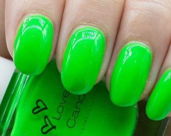 Obnoxious Psychic Frog - Love Candii Neon Nail Polish