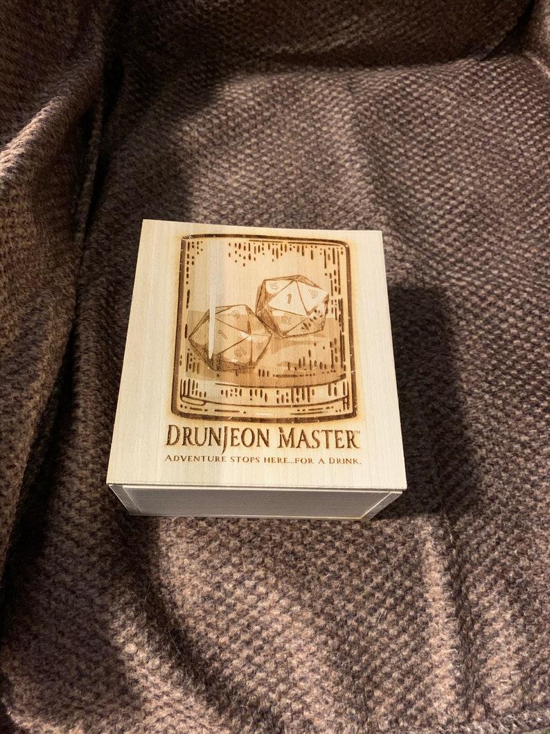 Drunjeon Master Dice Box image 0