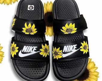Sunflower nike | Etsy