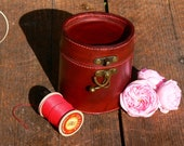 Leather Jewellery Box, HANDCRAFTED 100% FULL GRAIN. Gift for her, Gift for him