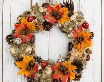 Autumn Loveliness Wreath