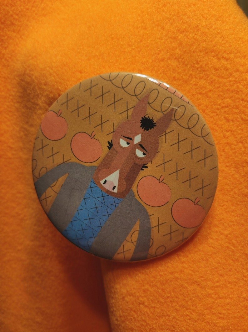 Bojack Horseman Button