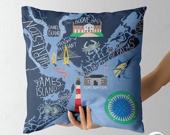 Charleston Pillow Etsy