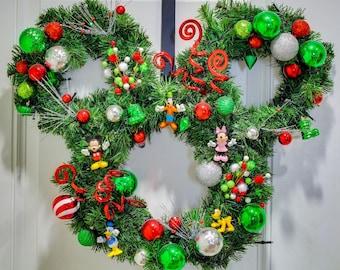Disney Mickey and Friends Christmas Wreath