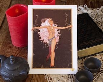 "Art print ""The Priestess"""