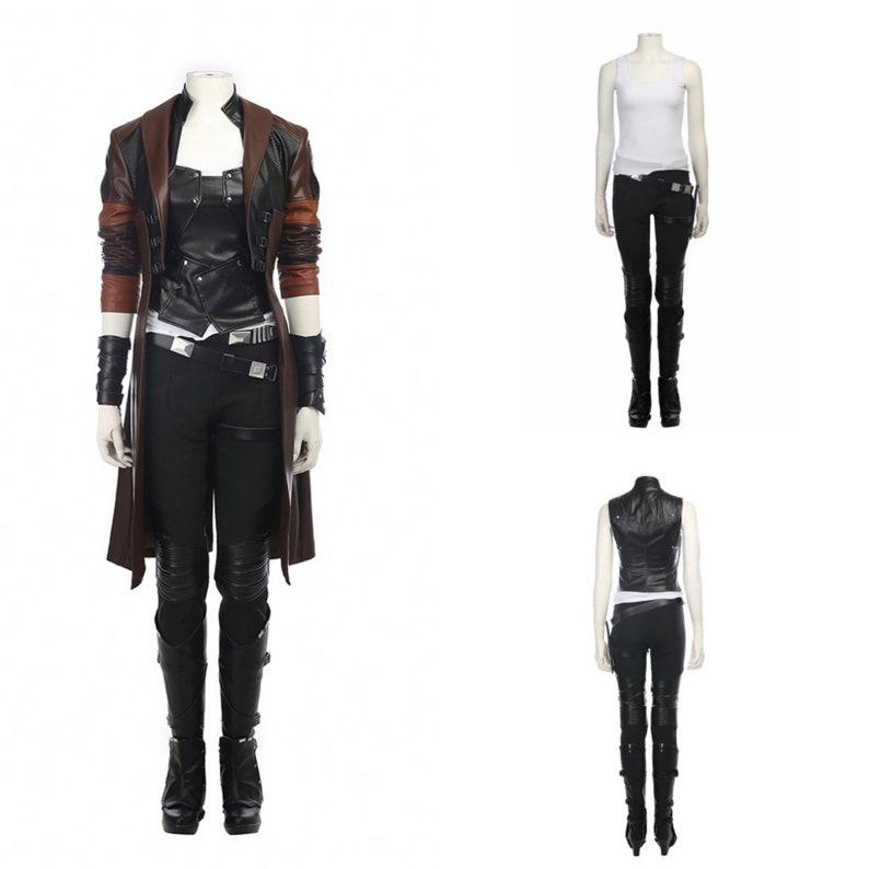 Guardians of the Galaxy Vol Anime Exhibition  For Women 2 cosplay costume,Gamora costume,Costume For Halloween Party