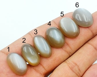 Natural Peach Moonstone High Polished Semi Precious Handmade Gemstone