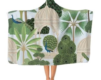 Mughal Pattern Premium Adult Hooded Blanket