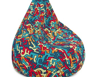 Camouflage Bean Bag Chair Cover