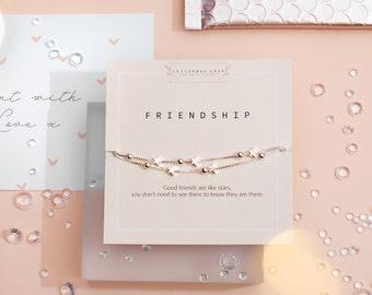 friendship bracelet silver