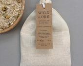 Chamomile and Oatmeal Bath Bag | Natural | Chamomile bath milk | Soothing | Self care gift