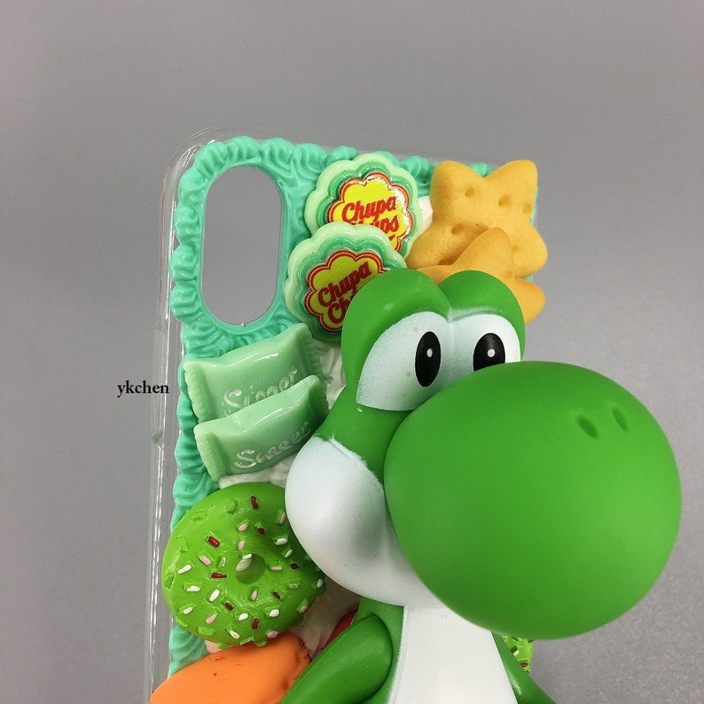 Dragon iPhone Case for iphone 78 Plus X XS XR XSmax 11 12 mini Pro Max Cartoon Anime Gamer Mario|Handmade Lovely 3D Silicone Birthday Gift