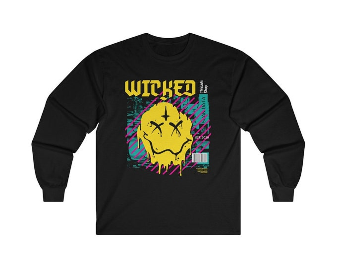 Featured listing image: Smile Wicked Long Sleeve