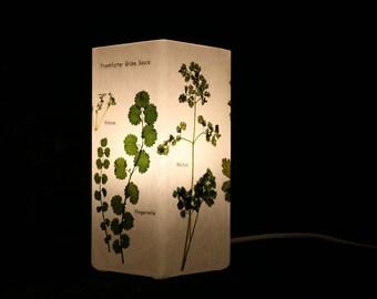"""Lampe """"Frankfurter Grüne Soße"""", Lamp """"Frankfurt Green Sauce"""""""