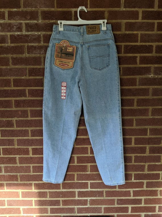 Faded Glory mom jeans, medium, deadstock