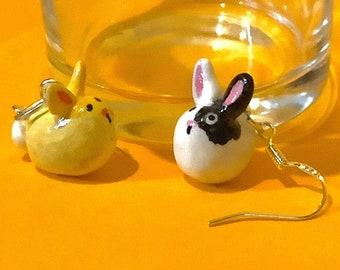 Lot Of Assorted Single Odd Earrings One Bird Shaped