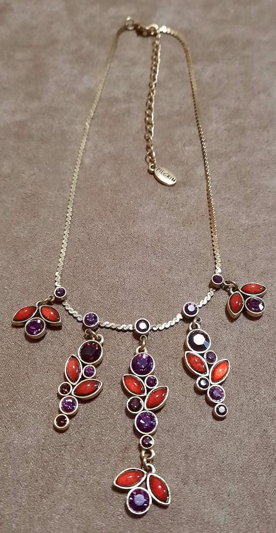 Vintage Danish Design Pilgrim Necklace