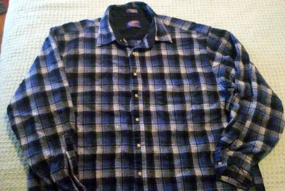 VINTAGE Pendleton 100% Wool Button Down Shirt