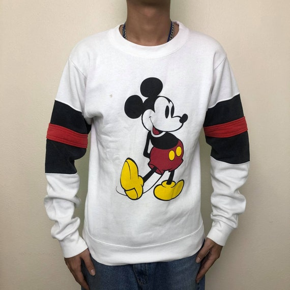 Vintage 80's Mickey Mouse USA Sweater