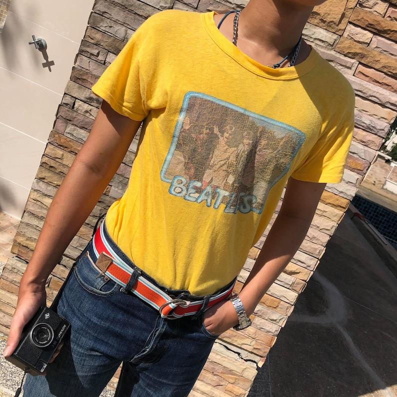 Vintage 80/'s The beatles t-shirt single stitch USA Size M