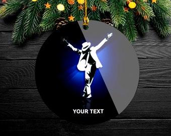 Handmade \u201cJim Morrison Michael Jackson\u201d Christmas Ornament Your choice Eminem