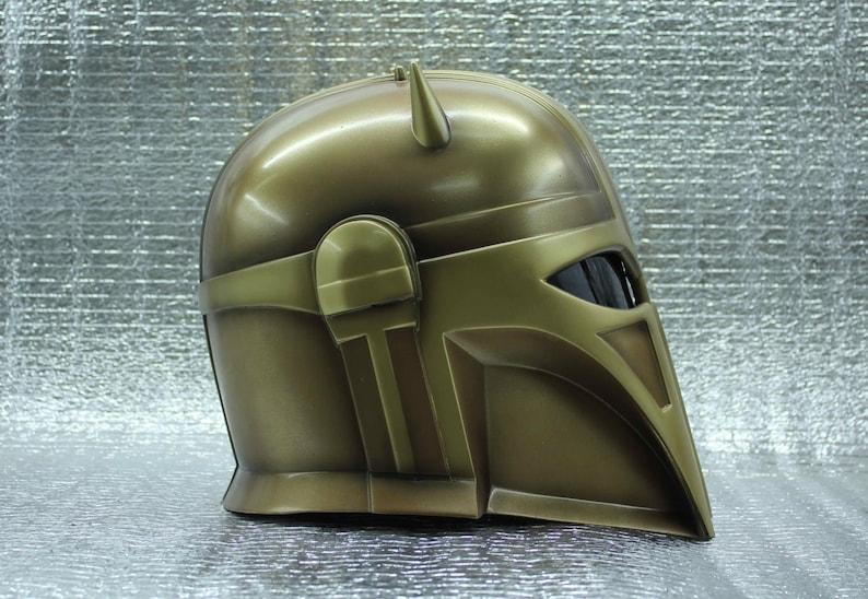 Mandalorian Blacksmith helmet Star Wars Raw\\Cosplay\\Airsoft