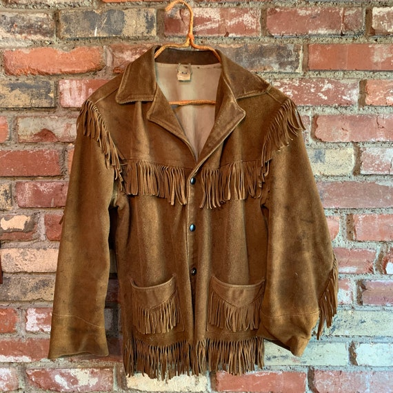 Vintage 70s Fringe Jacket