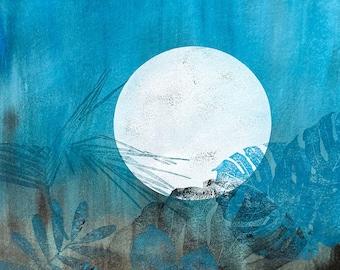 Original Print: Moon in the Jungle