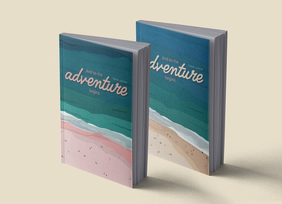 Travel diary | Pink beach | Sand Beach | A5 | 100 pages | To register
