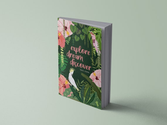 Travel diary | Jungle & Parrots | 120 pages | A5 | To register