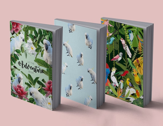 Notebook Parrots Collection